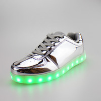 Zaps Gold - LED Light Up Shoes