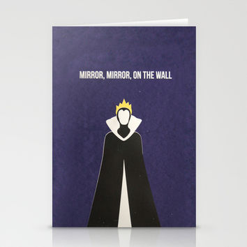 Disney Villain - Evil Queen Stationery Cards by Tessa Simpson