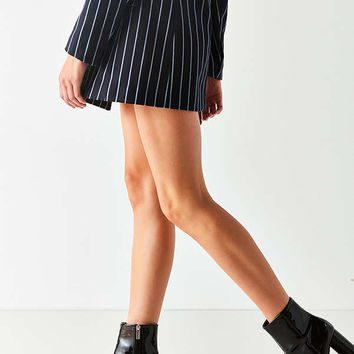 Sloane Seamed Patent Leather Ankle Boot | Urban Outfitters