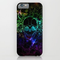 COLORFUL SKULL iPhone & iPod Case by Acus