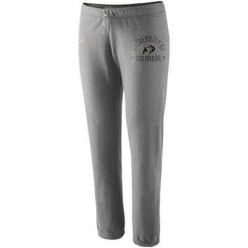 Nike Colorado Buffaloes Ladies Rally Fleece Pants - Ash