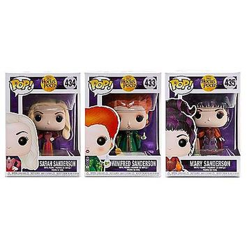 Hocus Pocus Pop Figures - 3 Pack - Spirithalloween.com