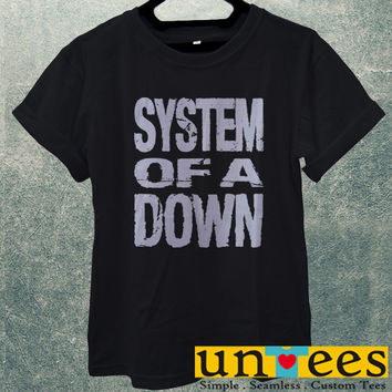 Low Price Men's Adult T-Shirt - System of a Down Logo design