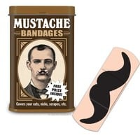 Mustache Bandages - Whimsical & Unique Gift Ideas for the Coolest Gift Givers