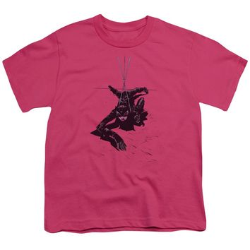 Batman - Catwoman Rope Short Sleeve Youth 18/1