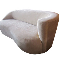 Corkscrew Sofa by Vladimir Kagan