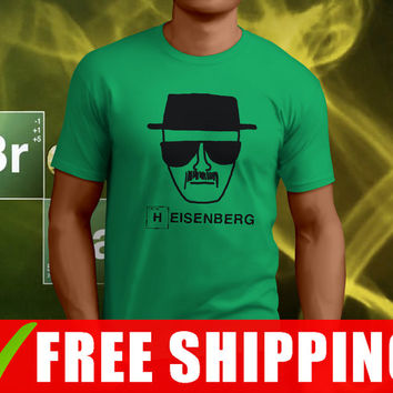 Heisenberg Top Hat Breaking Bad funny t shirt, breajking bad tee