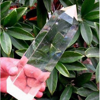 LONG NATURAL TRANSPARENT QUARTZ CRYSTAL POINT Healing