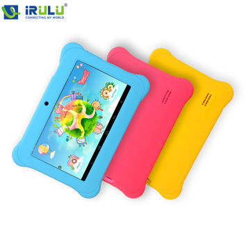 7 inch iRULU Y1 Baby Pad Tablet PC for Children Quad Core IPS Screen 1024*600