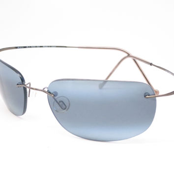 Maui Jim Kapalua MJ 502-02 Gunmetal Polarized Sunglasses