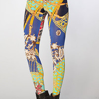 The Vintage Scarf Leggings