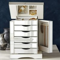 Ultimate Mirrored Jewelry Box