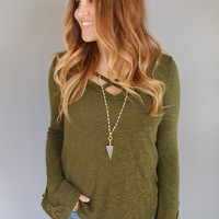Forest Knit Top