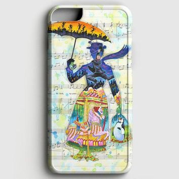 Mary Poppins Art iPhone 8 Case
