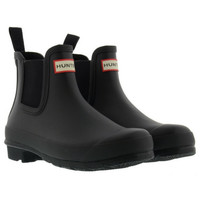 Hunter Black CHELSEA BOOTS