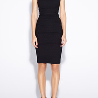 Lauren Pucker Knit Dress