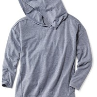 Old Navy Vented Pullover Hoodie For Girls
