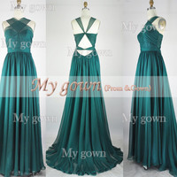 Halter Evening Dress Backless Prom Gown,Dresses ,Wedding Dress,Cocktail Dress,Homecoming Dress