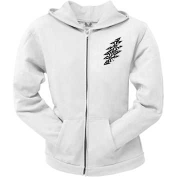 Grateful Dead -Black & White Calaveras Juniors Zip Hoodie