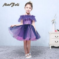 Retail Flower Girl Dresses For Children Kids Girl Ball Gown First Communion Girls Pageant Dresses Elegant Evening Dress FG013