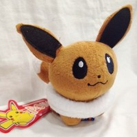Pokemon Plush Eevee Doll Around 12cm 5""