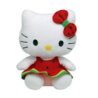 Ty Beanie Baby Hello Kitty Watermelon