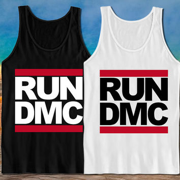 run dmc tank top fitness tank top workout heppy feed on S-XXl.