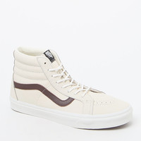 Vans Leather Sk8-Hi Reissue Off White Shoes at PacSun.com