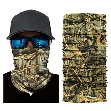 Balaclava Bandanas Men Multi Use Face Shield Women Scarves Wraps Braga Cuello Tactical Mask Buffe Shemagh Military Foulard Moto Apparel Accessories