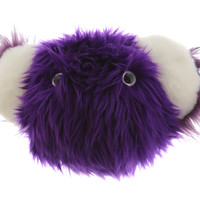 "BearBear Ball 16 in. - ""Purple Shaggy"" Faux Fur (ONLY 1 LEFT)"