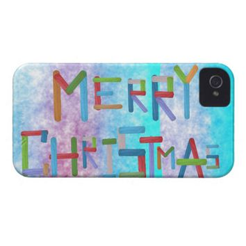 Merry Christmas Case-Mate iPhone 4 Case