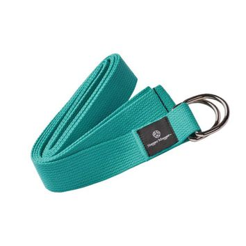 Cotton D-Ring 8' Yoga Strap