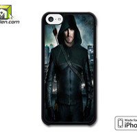 Arrow Oliver Queen Stephen Amell Wicked Town iPhone 5c Case Cover by Avallen