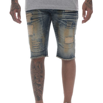 The Willis Shorts in Blue