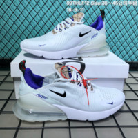 hcxx N262 Nike Air Max 270 Flyknit Breathable Sports Shoes White