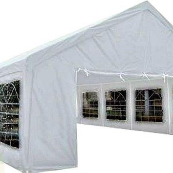 TENT HUGE 20'x 40' PARTY Canopy Wedding Gazebo Reunion Carport Shelter White New