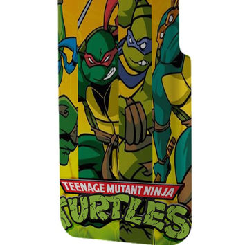 Best 3D Full Wrap Phone Case - Hard (PC) Cover with Teenage Mutant Ninja Turtles Design