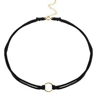 DogearedKarma Choker Necklace, 12.5""