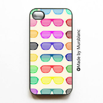 Iphone CaseShades of Summer Sunglasses Bright Bold by HipsterCases