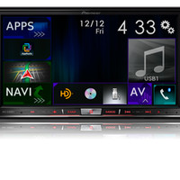 "AVIC-8100NEX - NEW! - Flagship In-Dash Navigation AV Receiver with 7"" WVGA Capacitive Touchscreen Display"