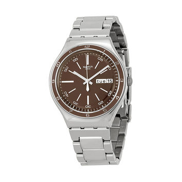 Swatch Irony Mens Quartz Watch YGS752G
