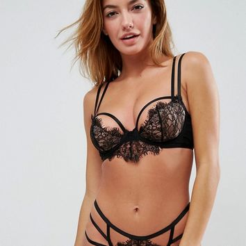 ASOS Janie Delicate Lace Underwire Bra at asos.com