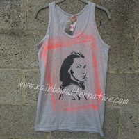 Alex Vause OITNB shirt tank top Orange is the New Black stencil and spray paint art by Rainbow Alternative