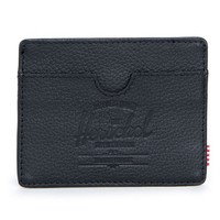 Charlie Leather Wallet in Black by Herschel Supply Co.