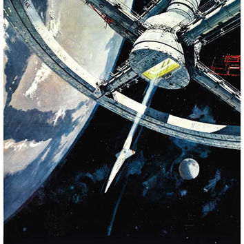 2001: A Space Odyssey Movie Poster 11x17