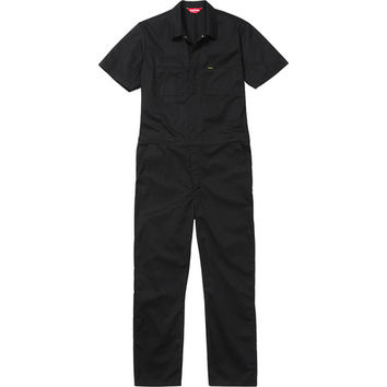 Supreme: S/S Coveralls - Black