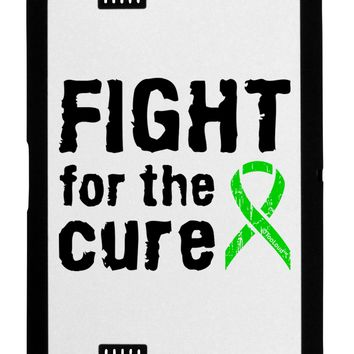 Fight for the Cure - Lime Green Ribbon Lyme Disease Black Jazz Kindle Fire HD Cover by TooLoud