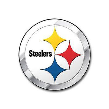 Licensed Official NFL Pittsburgh Steelers Premium Vinyl Decal / Sticker / Emblem - Pick Your Pack
