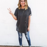 Grey Passion Top