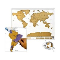 Scratch Map Personalized World Map